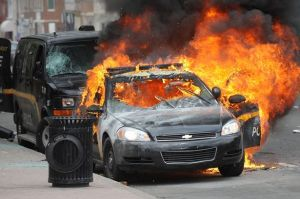 Baltimore-on-fire